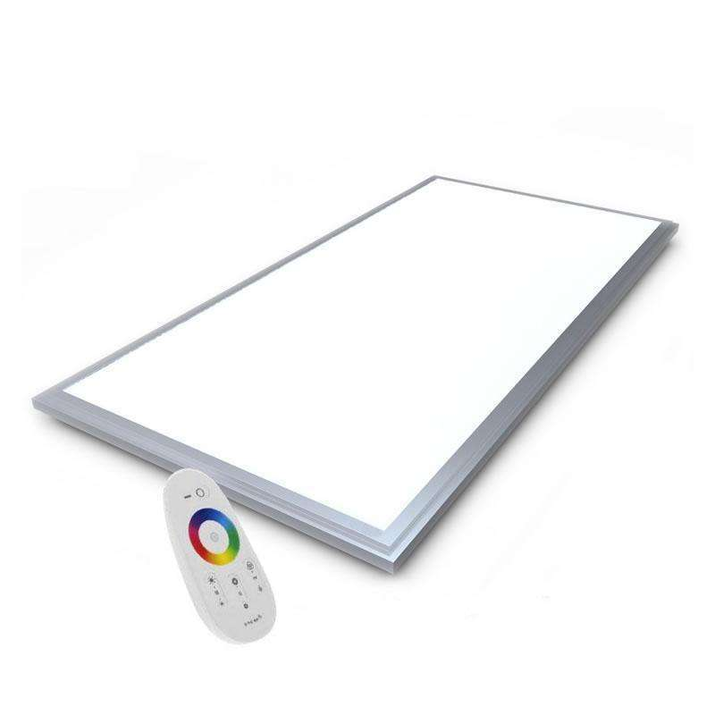 Panel LED 60W, RGB, RF, 120x60cm